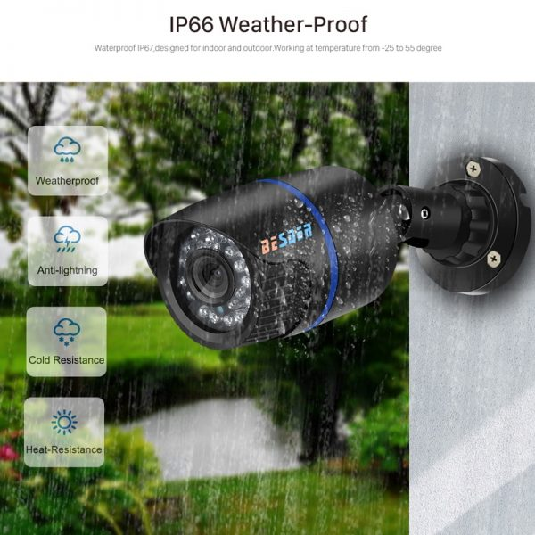 BESDER-POE-48V-Outdoor-Bullet-Wired-Surveillance