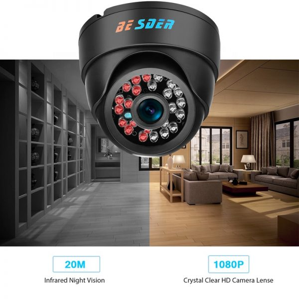 Besder Camera-Dome-Onvif-Rtsp-Full-HD-1080P